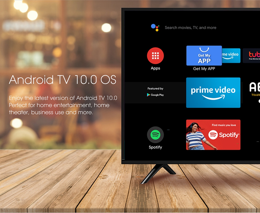 MECOOL KM6 Deluxe 4GB / 64GB ROM Android TV 10.0 TV-DOOS Amlogic S905X4 2.5G + 5G WIFI 6 Bluetooth 5.0 4K HDR
