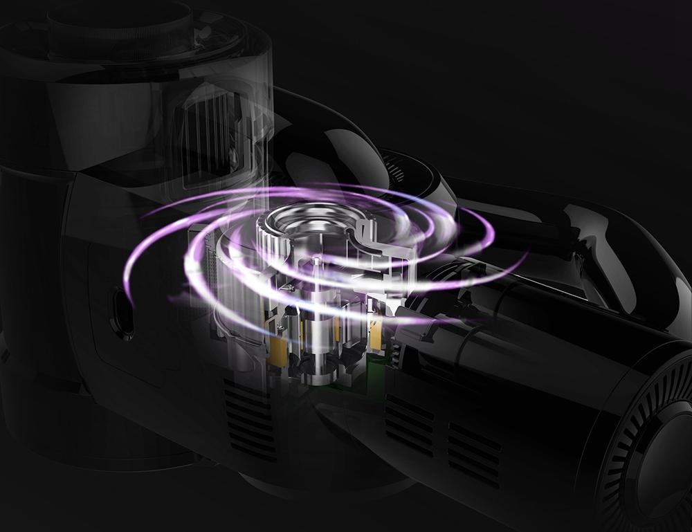Xiaomi JIMMY H8 Pro Беспроводной ручной пылесос Двигатель 500 Вт 160AW 25000 Па Сильное всасывание 70 минут Время работы 3000 мАч Литиевая батарея Светодиодный дисплей Глобальная версия - фиолетовый