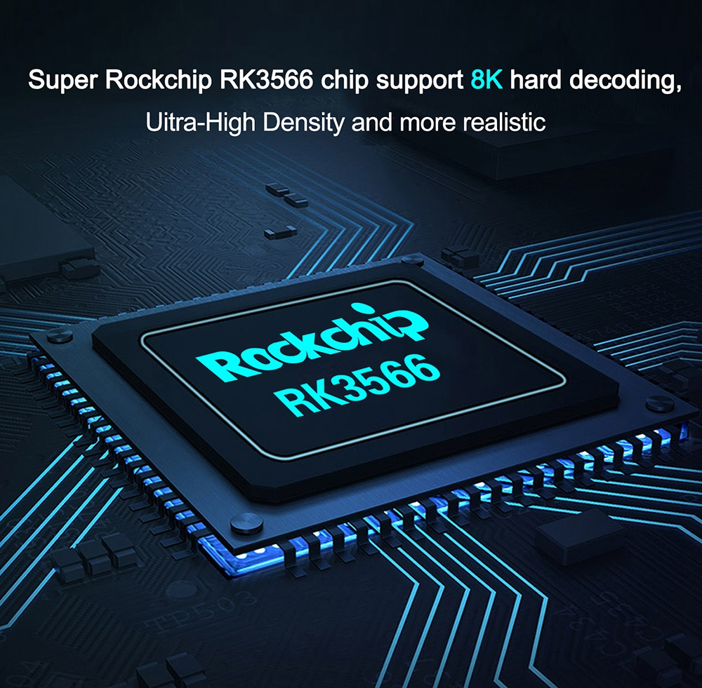 X88 PRO 20 RK3566 Android 11 RK3566 8GB / 64GB TV BOX 1.8GHz 2.4G + 5G WIFI Gigabit LAN Voice Remote