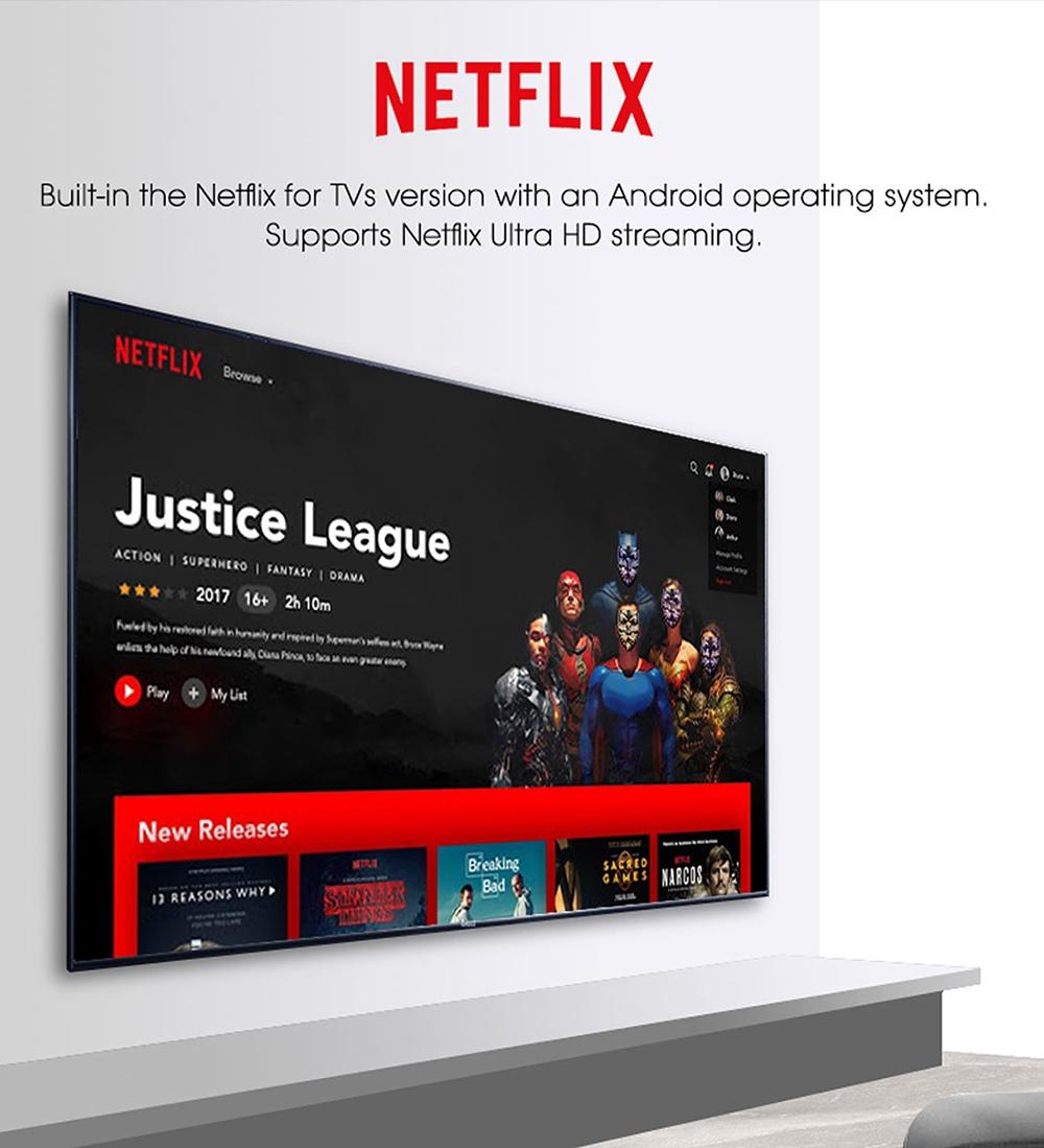 MECOOL KM2 Netflix 4K S905X2 4K TV BOX Android TV Disney + Dolby Audio Chromecast Prime Video