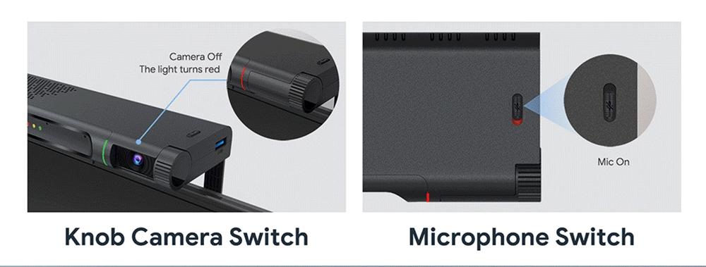 MECOOL KA2 Android TV 10.0 TV BOX με κάμερα 1080P Mic S905X4 2 GB RAM 16 GB ROM 2.5G + 5G WIFI Bluetooth
