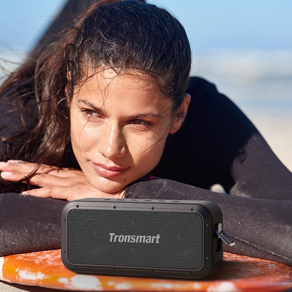 Tronsmart Force Pro 60W Bluetooth Speaker Broadcast Mode ATS2835 IPX7 15H Playtime NFC Type-C SoundPulse