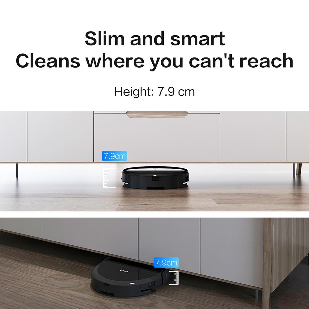 360 C50 intelligens robotporszívó söprés és nedves felmosás 2600Pa App távirányító porszívó otthoni vezeték nélküli