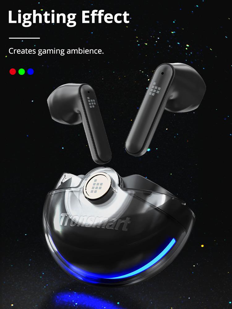 Écouteurs de jeu Tronsmart Battle à ultra faible latence