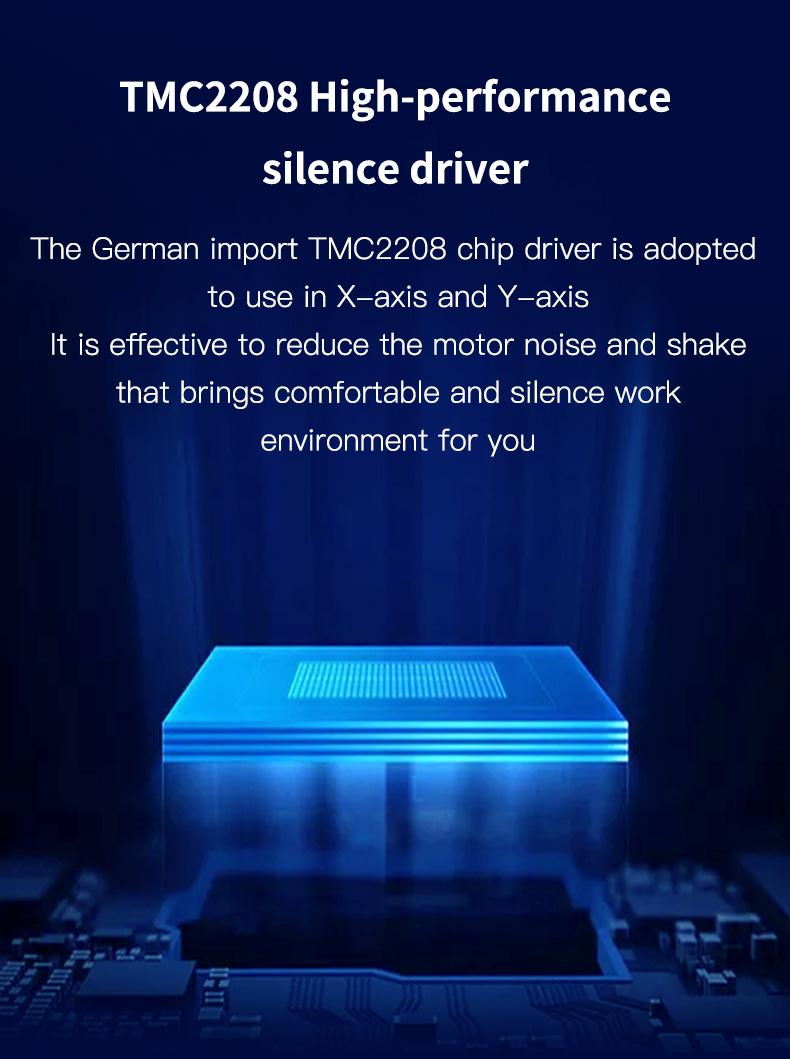 Creality Ender 3 Max FDM 3D Printer, 300 x 300 x 340mm, 2 Cooling Fans, Silent Motherboard, Carborundum glass bed