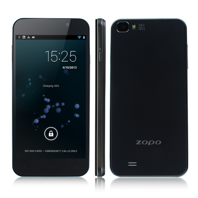 "ZOPO C2 FHD 5.0""1080P IPS Screen 441PPI MTK6589 Quad Core Smart Phone 1GB RAM+4GB ROM Android 4.2 with 3G/GPS-Black"