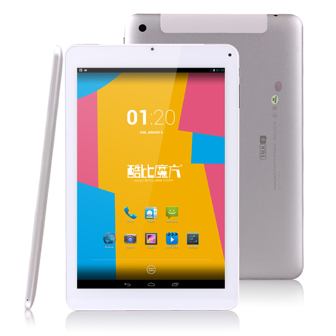Cube U39GT-3G Talk9 MTK8389T 1.5GHz 9 inch Tablet PC  Phablet  Android 4.2 Quad Core PLS Capacitive Touch Screen 1920*1280 1GB/16GB - White