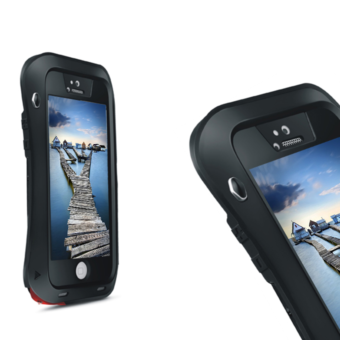 germany stock love mei weather dirt shockproof protective case for iphone 5 5s black 1571979850096