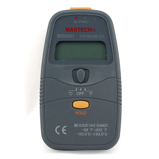 MASTECH MS6501 Handheld 3 1.2 K Type 1999 Count Digital Thermometer фото
