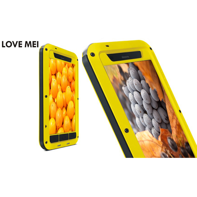 LOVE MEI Weather/Dirt/Shockproof Protective Case for Xiaomi 3 Mi 3 - Yellow