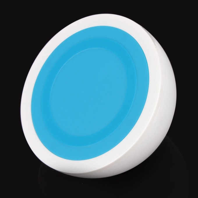 QI Standard Wireless Charger Charging Pad For iphone 5s Nexus 5 7 S4 Note3 Nokia -Blue фото