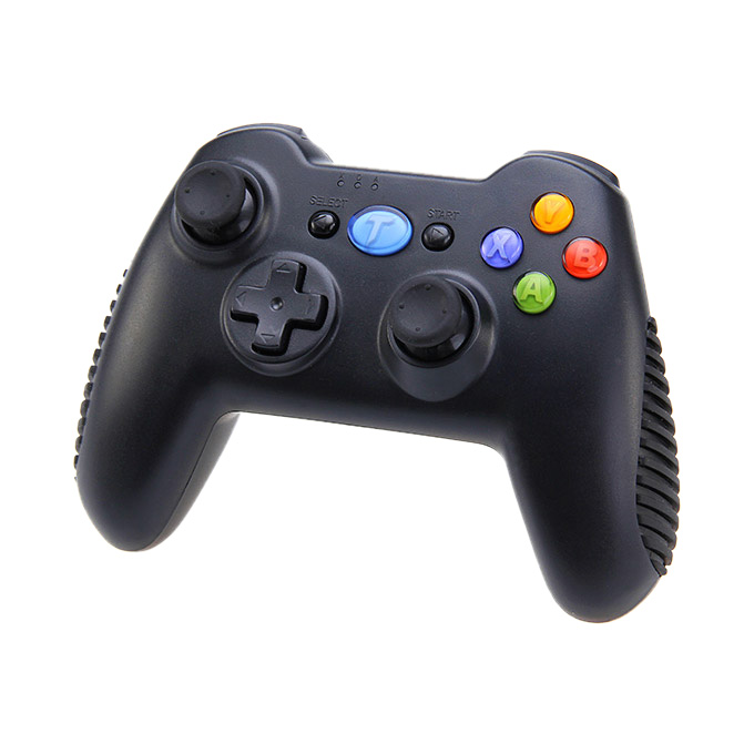 Tronsmart Mars G01 2.4GHz Wireless Gamepad Support Controller for Android TV BOX / PS3 / Tablet PC / MINI PC / Android Cell Phone - Black