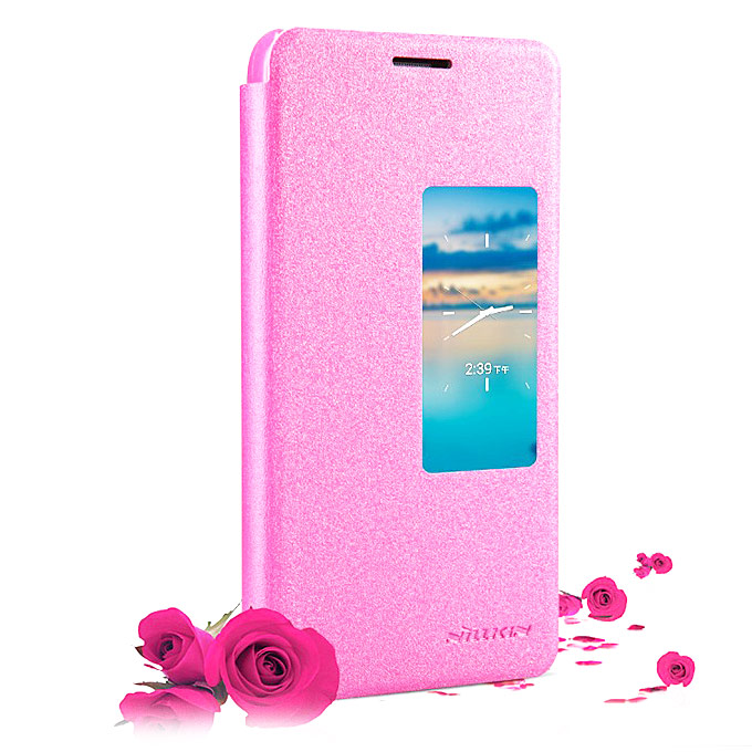 Huawei Honor 6 NILLKIN New Leather Case Huawei Honor 6 Flip Leather Cover - Rose