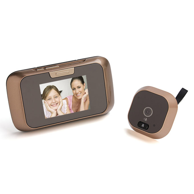 8002 2.8 Inch Smart Digital Door Viewer Display LCD Night Vision Auto-Image Recording spioncino e campanello visivo
