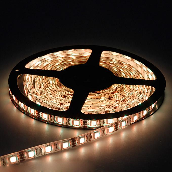 5 Meters LED Strip Light 300 LED Cool White//Warm White 12V Waterproof Light IP65