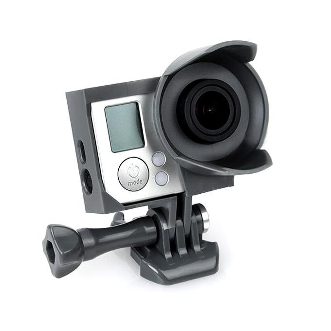 Hochwertige TMC Schutzbox Rahmen für GoPro HERO 3 / 3 + Sport Kamera - Schwarz