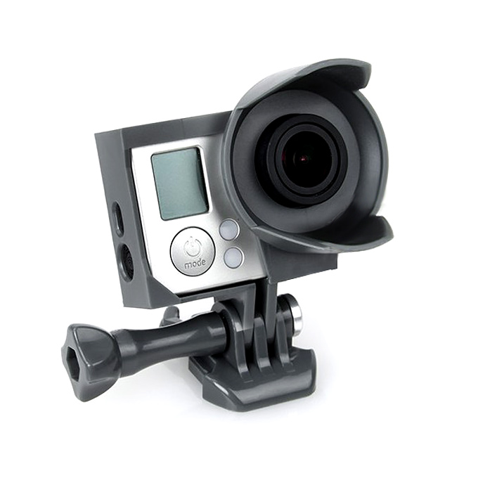 High Quality TMC Protection Box Frame for GoPro HERO 3 / 3+ Sport Camera - Black