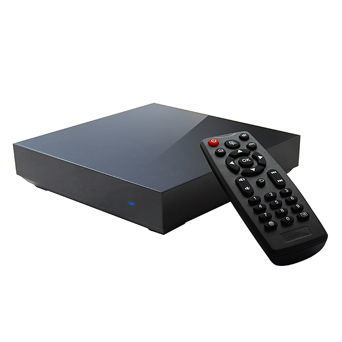 Measy B4S RK3288 Quad Core 1.8GHz Android 4.4 Mini 4K TV Box HDMI 2.0 HDD Player 2G/8G H.265 2.4G/5G WIFI Bluetooth 4.0 XBMC - Black