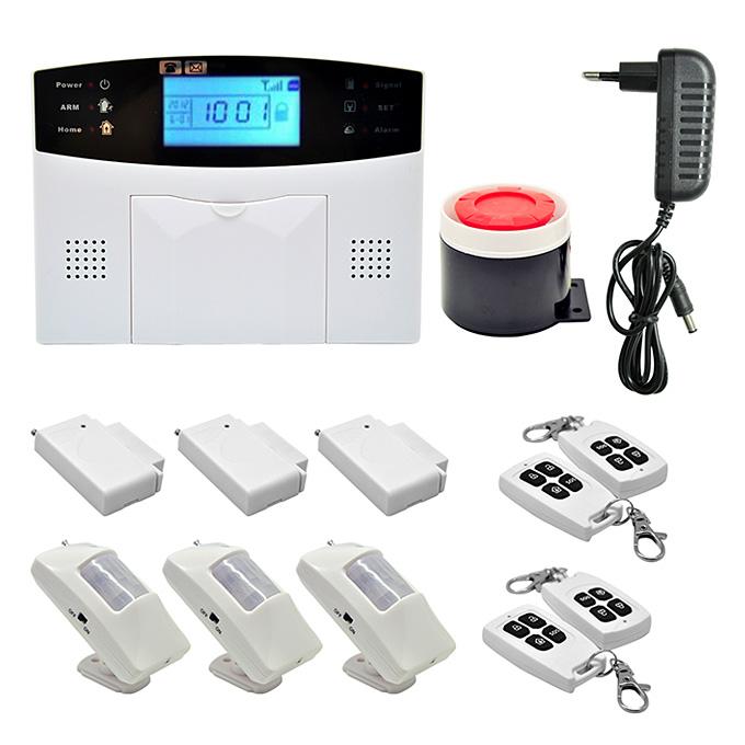 Беспроводной GSM SMS Главная охранная сигнализация Сигнальная сигнализация датчика (EU Plug)