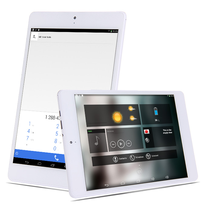 PiPO P8 RK3288 Quad Core 7.9 Inch Android 4.4 OS Tablet PC 2GB/16GB Retina 2048*1536 Touch Screen 2.4G/5G WiFi 3G/GPS White