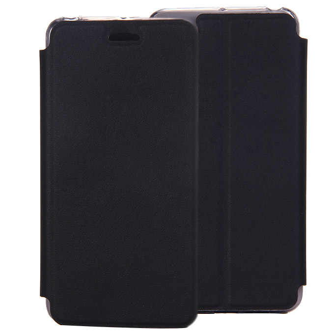 Protective Cover Flip Stand Leather Case for Lenovo S90 High Quality - Black фото