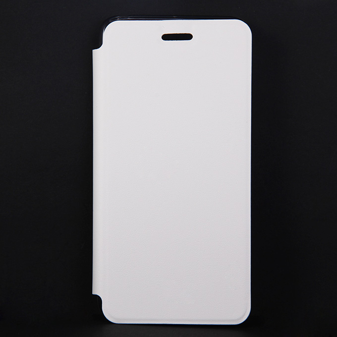 Protective Cover Flip Stand Leather Case for Lenovo S90 High Quality - White Other