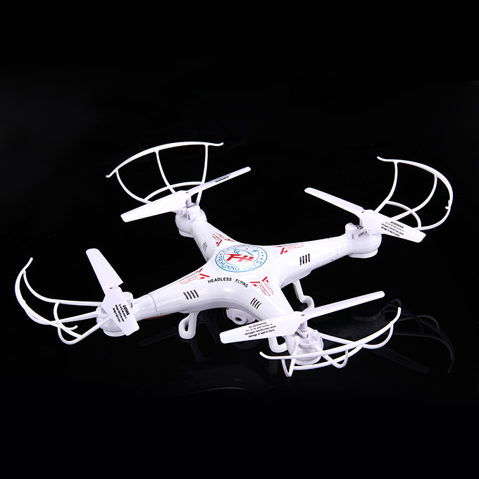 F805C 4-CH Remote Control Quadcopter 3D 360 Degree Eversion High-performance Model Aircraft - White