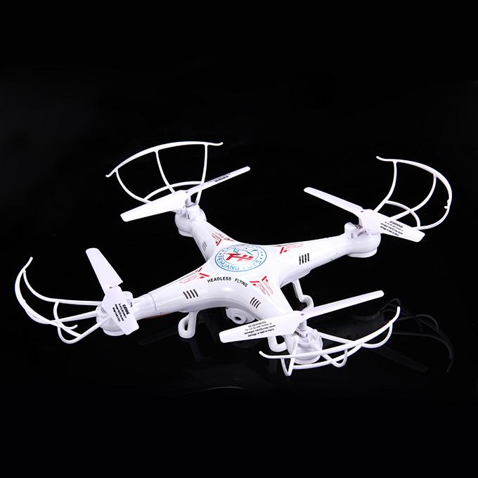 F805C 4-CH Τηλεχειριστήριο Quadcopter 3D 360 βαθμός Eversion Υψηλής απόδοσης μοντέλο αεροσκάφους - λευκό