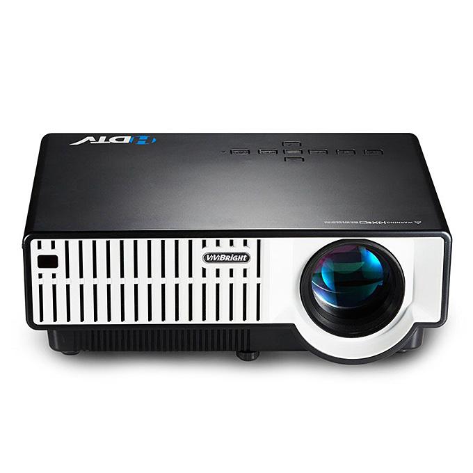 Vivibright PRW310 210W 1080P HD Светодиодный проектор 2800 Lumen HDMI USB VGA для игры на смартфоне Домашний кинотеатр - черный