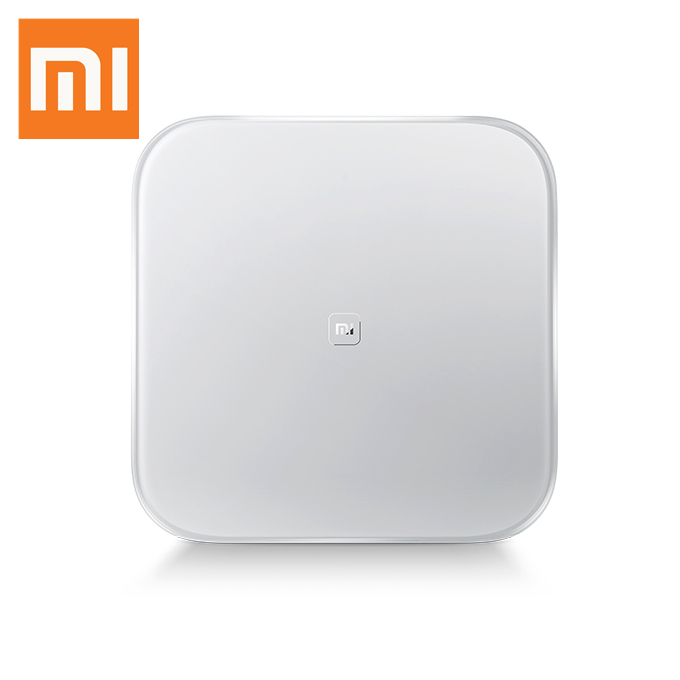 Xiaomi Mi Smart Scale Bluetooth 4.0 LED Display Weighing Scale Digital Body Weight Scale for Android iOS  - White