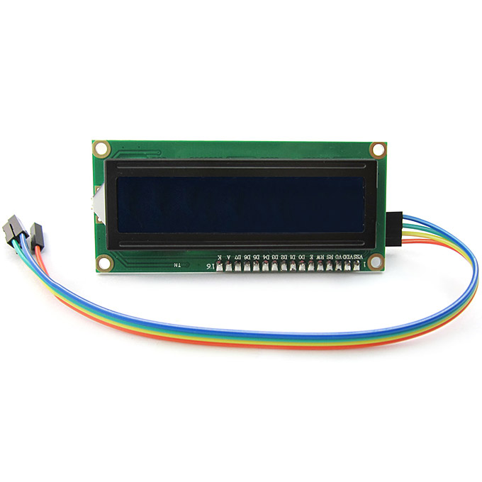 Arduino I2C IIC LCD1602 Display Module With Blue Backlight Compatible With Raspberry Pi AVR ARM
