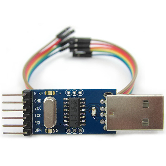 CH340G Serial Port Debugger USB To TTL Converter Adapter Module Compatible With Arduino Pro Mini