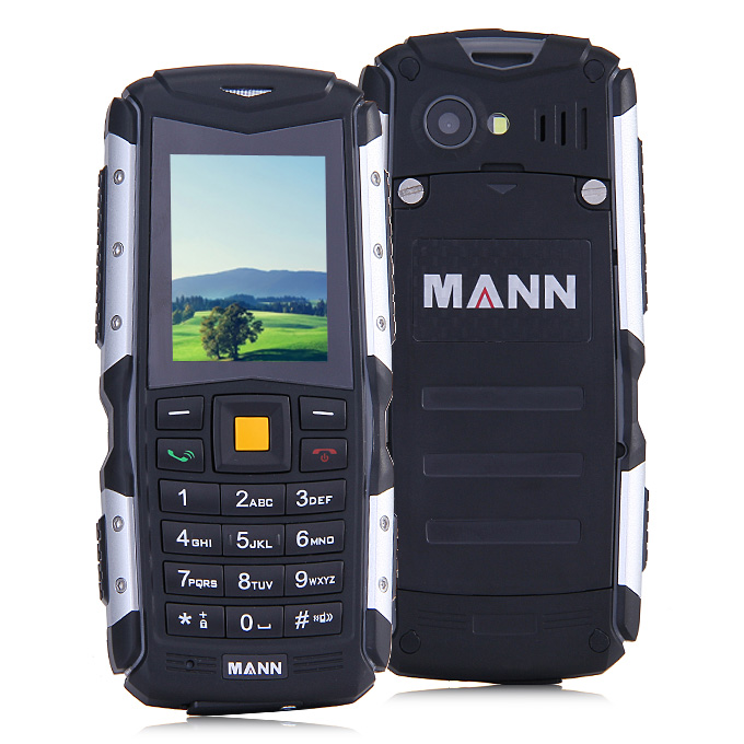 Mann Zug S Ip67 Waterproof Rugged Phone