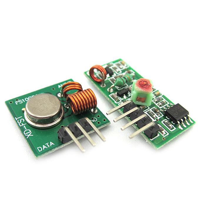 MX-05V 433MHZ RF Wireless Receiver Module MX-FS-03V Transmitter Module Kit For Arduino Raspberry Pi AVR ARM