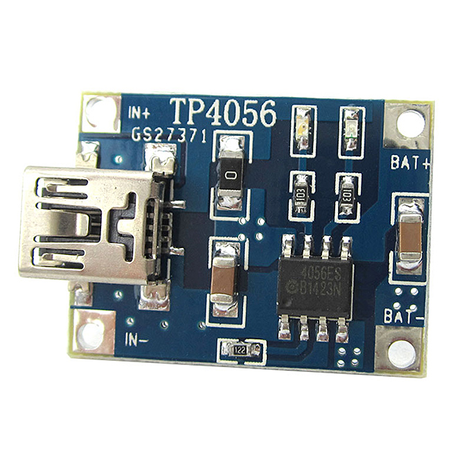 TP4056 1A 3.7V Lipo Battery Charging Board Charger Module Lithium Battery DIY Mini USB Interface