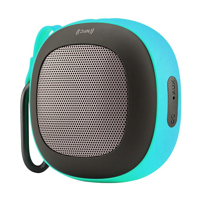 Nillkin Stone Kültéri hordozható mini vezeték nélküli BT4.1 hangszóró beépített mikrofon támogatás NFC Handfree - zöld