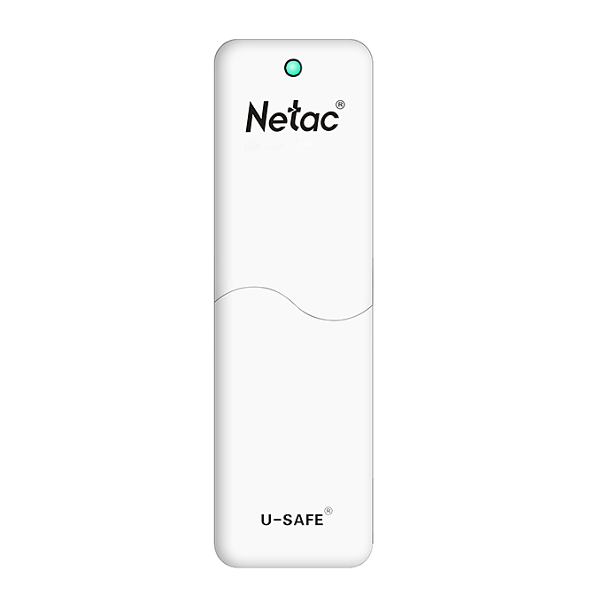 Netac LangKe U335 USB 3.0 16GB U Disk With Protection Function - White
