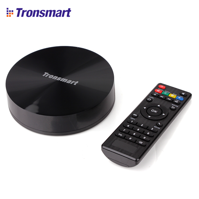 Tronsmart Vega S89 Elite Amlogic S802 Quad Core 2.0GHz Android 4.4 TV BOX HDMI HDD Player 2G/8G Bluetooth 2.4G Wifi XBMC - Black