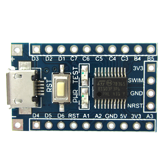 Micro USB High Quality STM8S103F3 STM8 Core-Board Development Board w/SWIM Socket