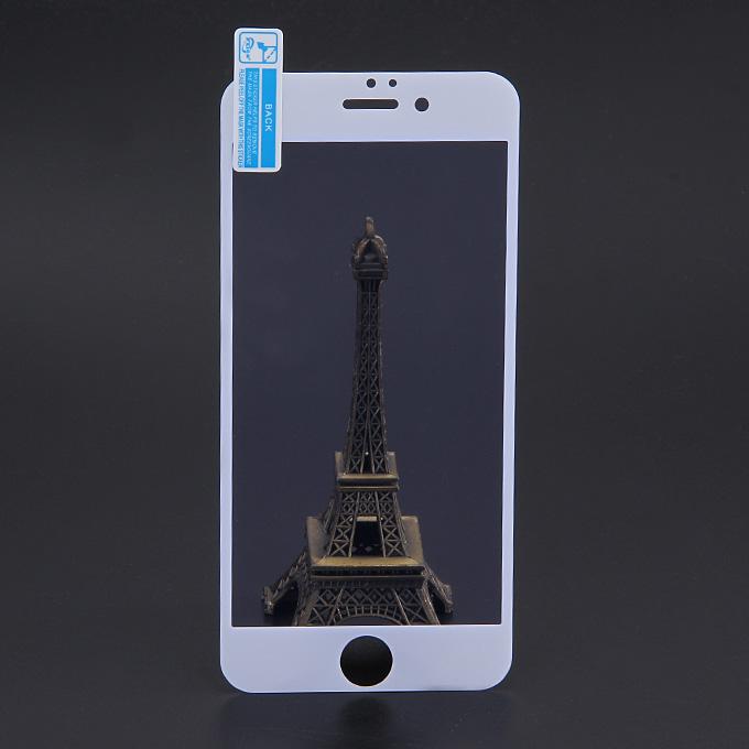 Makibes Anti Blue Ray protetto Vetro 0.33mm Pellicola salvaschermo Copertura film Arc Edge per iPhone 6 4.7 pollice