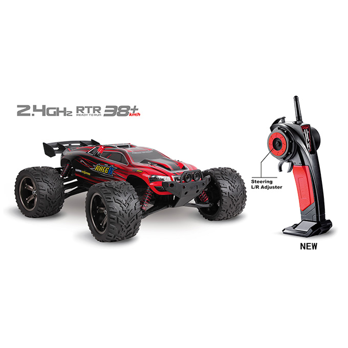 9116 1/12 Brushed RC Monster Truck 2.4GHz 38KM/H High Speed 2WD