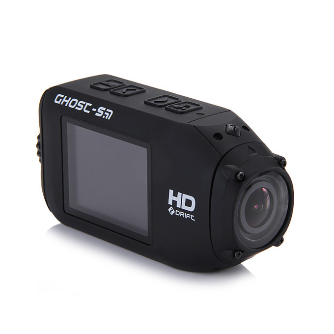 Foream Drift Ghost-S Ambarella A7 1080p/60fps 160 Degree Wide Angle 12M Pixels IPX8 HD Sports Camera Digital Camcorder