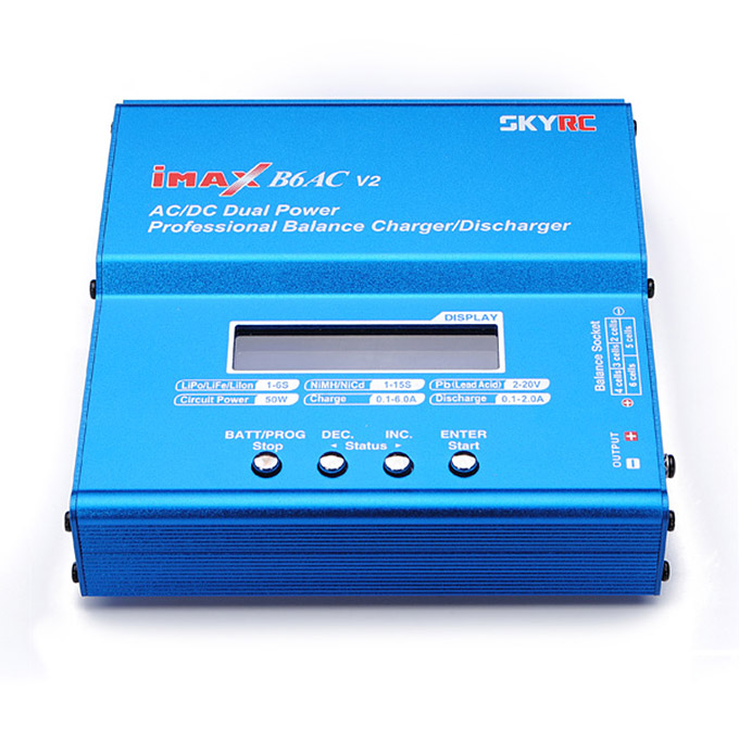 SKYRC iMAX B6AC V2 Professional AC/DC Dual Power Balance Charger Discharger Adapter