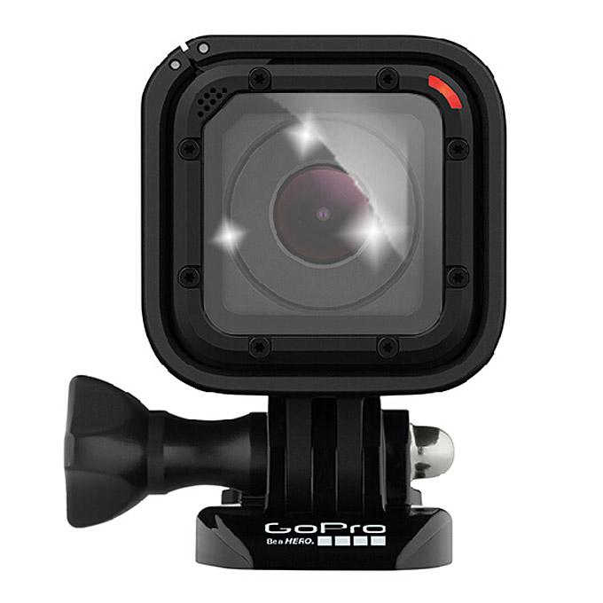 GP-FLM-04S Водонепроницаемые защитные пленки для объективов для Gopro Hero4 Аксессуары для фотоаппаратов