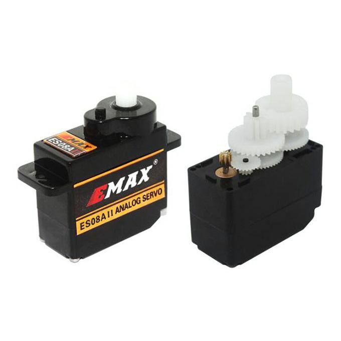Emax ES08A II Mini Plastic Gear Analog Servo 1.8kg/s For RC Models