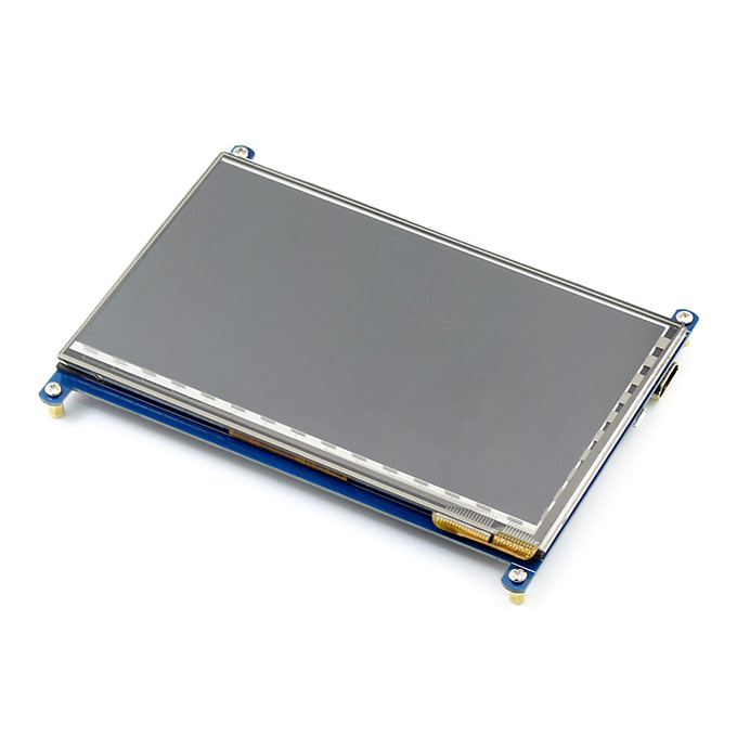 7 Inch Capacitive Touch Screen LCD HDMI 800x480 For Raspberry Pi/BB BLACK/PC/Various Systems