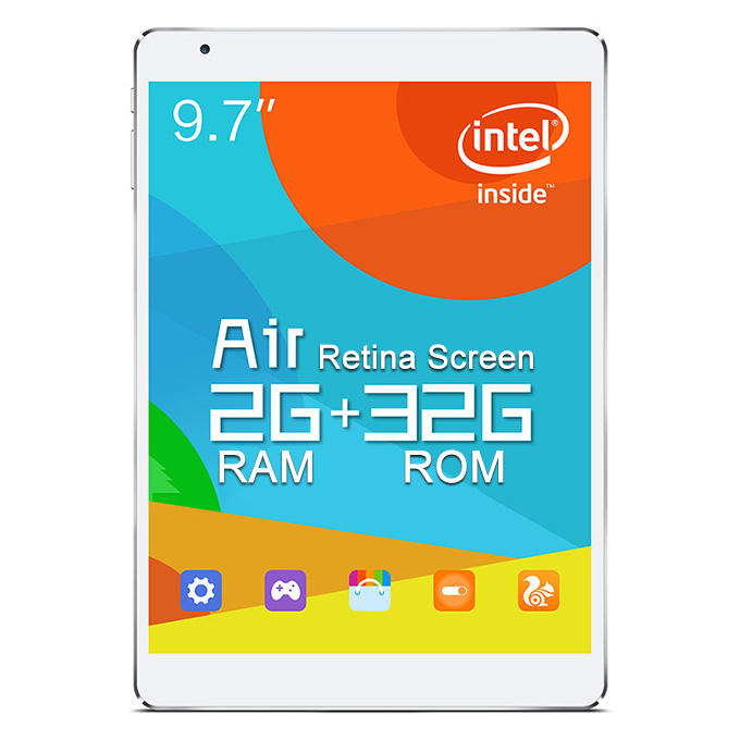 "Teclast X98 Air III 9.7"" Android 5.0 2GB/32GB Tablet PC Intel Z3735F Quad Core 1.83GHz IPS Retina 2048*1536 HDMI WiDi WiFi - White"
