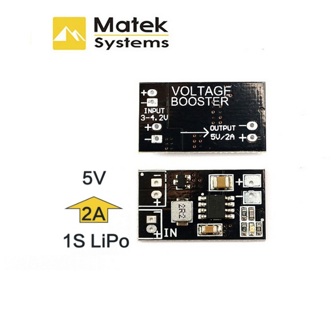 Matek VB2A5V DC-DC 1S 5V Booster Regulation Module Converter