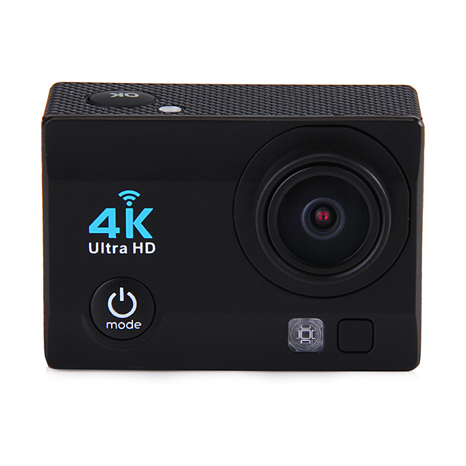 X1 Allwinner V3 Ultra HD DV Sport Camera with 16.0M Pixels 1080P H.264 170 Degrees Wide Angles WiFi Function - Black