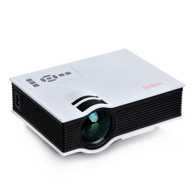 UC40 Pro 55WHD 1080P Mini Home 1080P LED Projector 50Lm w/ HDMI/AV/SD/USB/VGA Remote Control